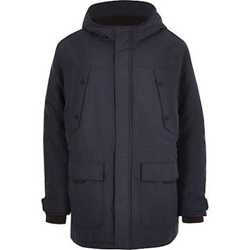 River Island Mens Only And Sons Big And Tall Padded Parka