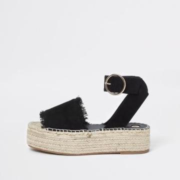 River Island Womens Espadrille Platform Sandals