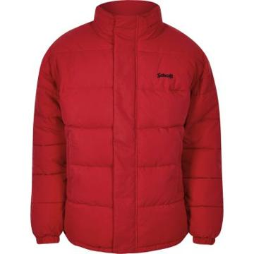 Mens Schott Hidden Hood Padded Jacket