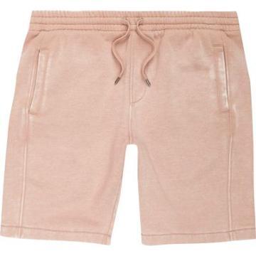 River Island Mens Burnout Jersey Shorts