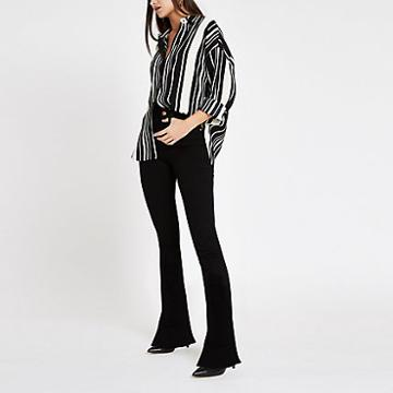 River Island Womens Stripe Long Sleeve Blouse