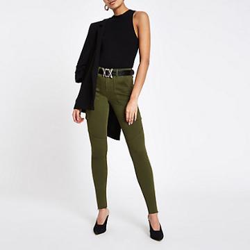 River Island Womens Amelie Skinny Utility Jeans