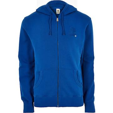 River Island Mens Franklin And Marshall Zip Hoodie