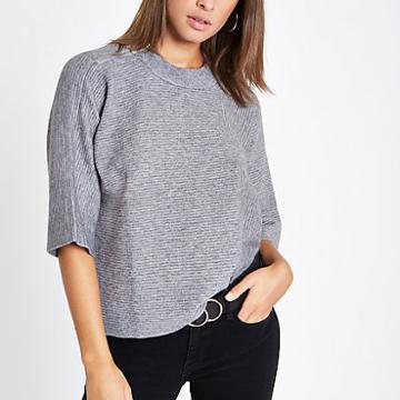 River Island Womens Flare Sleeve T-shirt
