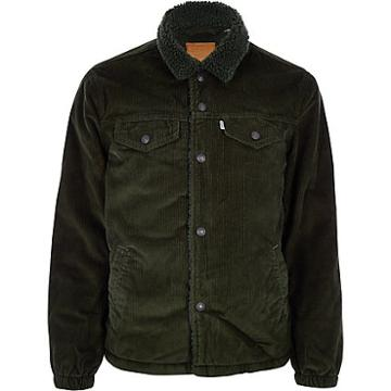 Mens Levi's Cord Trucker Jacket