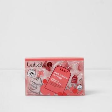 River Island Womens Bubble T Bath Infusion Tea Bags