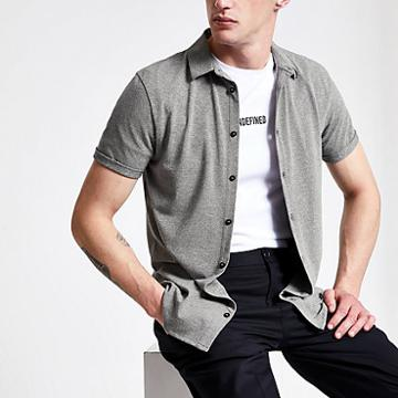 River Island Mens Grindle Muscle Fit Shirt