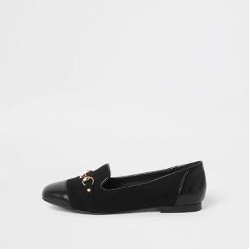 River Island Womens Toe Cap Snaffle Loafers