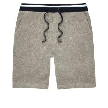 River Island Mens Contrast Stripe Towel Shorts