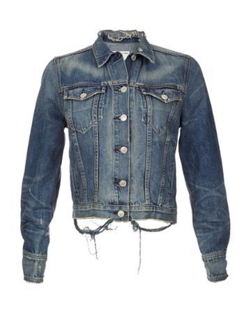 Rag & Bone - Destroyed Denim Jacket