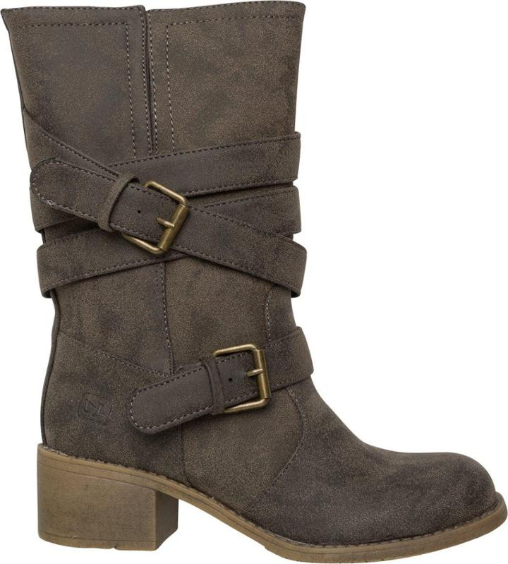 Dirty Laundry Check It Out Buckle Boot