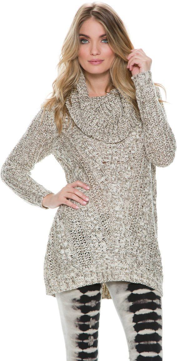 Swell Sparrow Cowl Neck Sweater