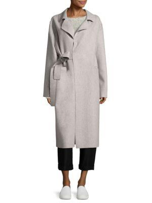 Sara Lanzi Belted Wool Coat