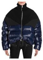 Ben Taverniti Unravel Project Shiny Hybrid Down Puffer Jacket