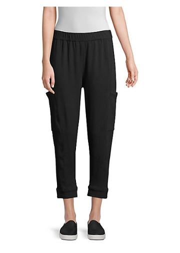 Eileen Fisher Slouchy Cropped Joggers