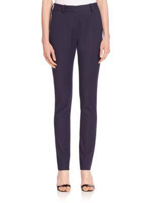Victoria Beckham Pinstripe Skinny Pants