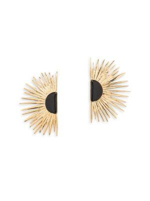 Aurelie Bidermann Duchesse Stud Earrings
