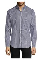 Peter Millar Gingham Plaid Shirt