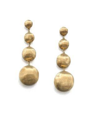 Marco Bicego Africa 18k Yellow Gold Four-ball Drop Earrings