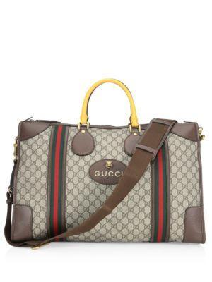Gucci Zip Logo Duffle Bag