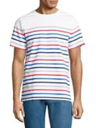 A.p.c. Striped Cotton Tee
