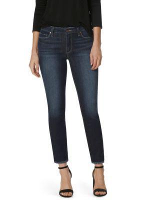 Paige Skyline Ankle Peg Step Hem Jeans