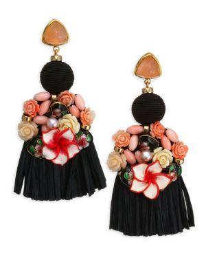 Lizzie Fortunato Dolce Vita Earrings