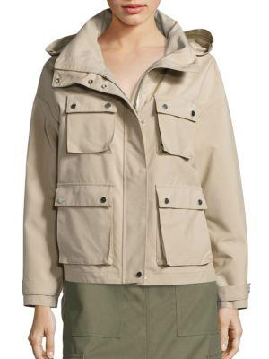 Cinoh Solid Hooded Jacket