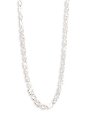 Ippolita 925 Senso Oval & Rectangle All Disc Necklace/37