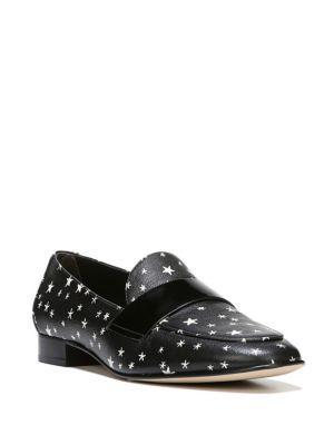 Diane Von Furstenberg Lafayette Star Leather Loafers