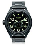 Nixon October Tide Stainless Steel Watch