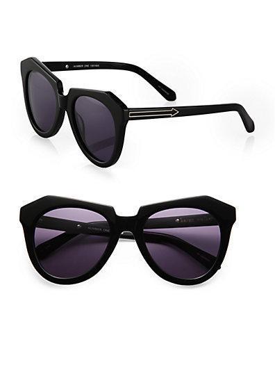 Karen Walker Number One Plastic Sunglasses