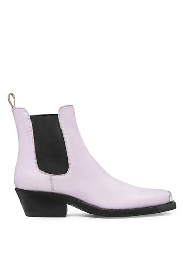 Calvin Klein 205w39nyc Western Claire Leather Chelsea Boots