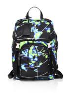 Prada Radar Printed Backpack