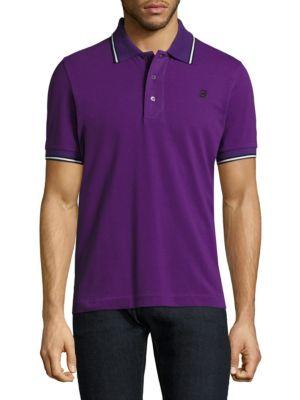 Bally Embroidered Polo Shirt