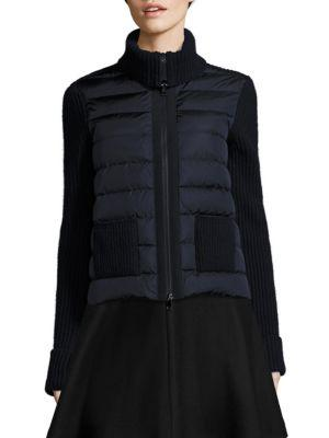 Moncler Quilted Maglione Jacket