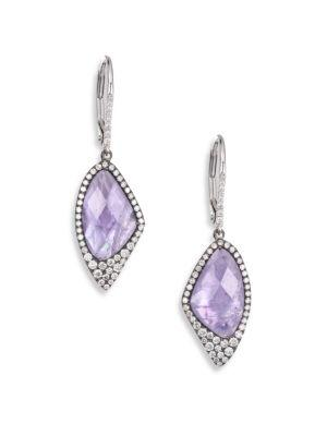 Meira T Tanzanite Drop Earrings