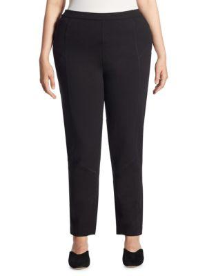 Joan Vass Medium Ponte Slim-fit Leggings