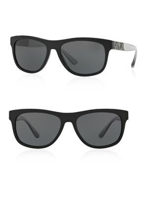 Burberry 57mm Square Sunglasses