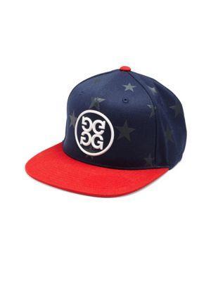 G/fore Star Printed Flat Brim Cap