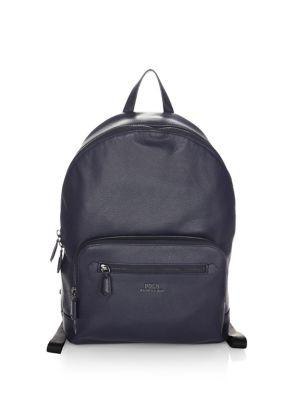 Polo Ralph Lauren Pebbled Leather Backpack