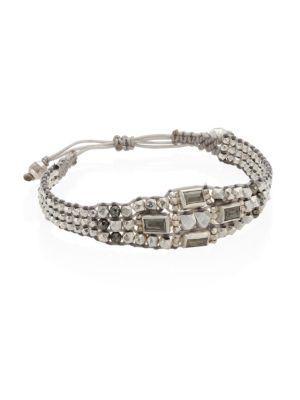 Chan Luu Pyrite Multi-layer Bracelet