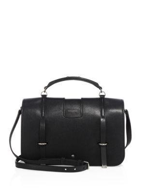 Saint Laurent Large Charlotte Leather Messenger Bag