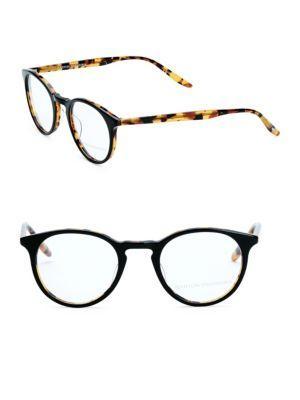 Barton Perreira Princeton Amber Tortoise 46mm Optical Glasses