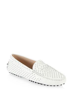 Tod's Gommini Micro Studded Driving Loafers