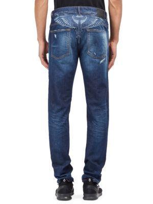 Marcelo Burlon Bajo Slim-fit Jeans