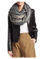 Brunello Cucinelli Striped Linen & Cotton Scarf