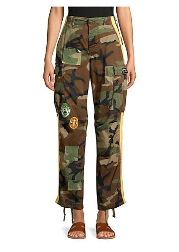 Riley Nightlight Camo Cargo Pants