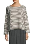 Eileen Fisher Peppered Sweater