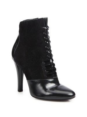 3.1 Phillip Lim Harleth Leather & Suede Lace-up Booties